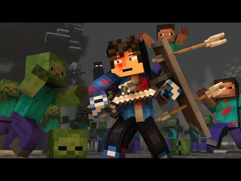 """The Struggle"" - A Minecraft Original Music Video ♫"
