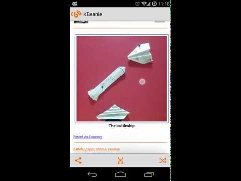 Video of Blogaway for Android (Blogger)