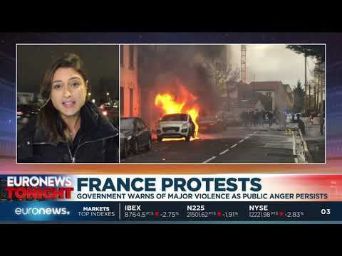 France braces for more violence amid protests | Euronews Tonight