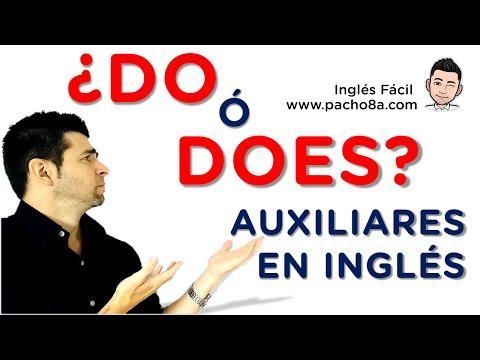 Así se usan los auxiliares DO y DOES en inglés - Presente Simple