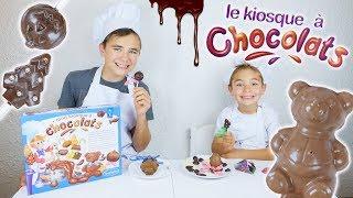 Video ON DEVIENT CHOCOLATIERS ! - CRASH TEST LE KIOSQUE À CHOCOLATS 🍫 MP3, 3GP, MP4, WEBM, AVI, FLV November 2017
