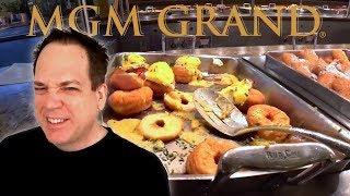 MGM Grand Buffet Las Vegas - Falling Apart!