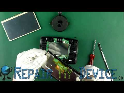 TomTom Start 25 LCD screen and Touch Screen Replacement Disassembly Instructions Parts Provider