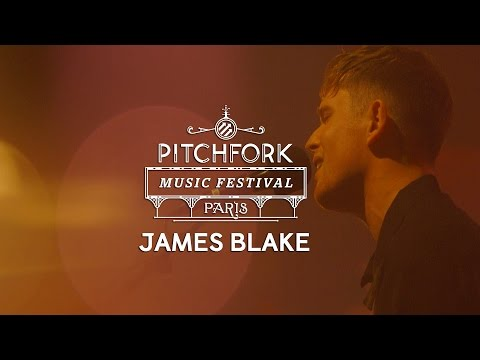 James Blake performs at Pitchfork Music Festival Paris