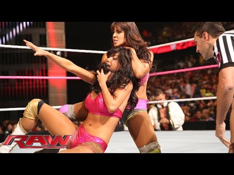"Rosa - Description: The newest ""Total Divas"" cast member squares off against Layla. See FULL episodes of Raw on WWE NETWORK: http://bit.ly/1wJ13X0 Don't forget to SUBSCRIBE: http://bit.ly/1i64OdT."