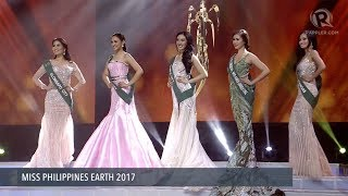 Watch the announcement of the top 5 candidates and their answers to win the crown of Miss Philippines Earth 2017. Watch live on http://s.rplr.co/8mg8Fdi Follow ...