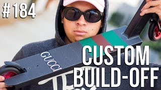 Video Custom Build Off 4!! - Part 1 (ft. Walter Perez) │ The Vault Pro Scooters MP3, 3GP, MP4, WEBM, AVI, FLV Januari 2019