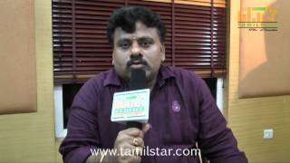 Cinematographer M V Panneer Selvam speaks at Pongadi Neengalum Unga Kadhalum Team Interview