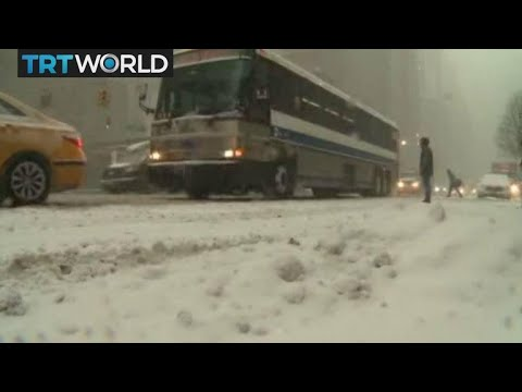 US Cold Snap Extreme weather conditions continue in US