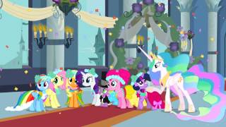 My Little Pony - Royal Wedding, Chrysalis' Defeat, and Ending (NFL Music)