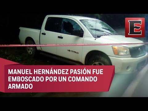 Matan a tiros al alcalde de Huitzilan, Puebla