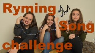 The ryming song challenge - Episode 12