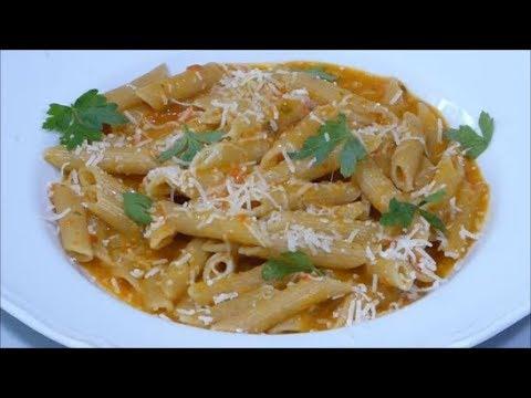 bimby - pasta risottata ai peperoni rossi
