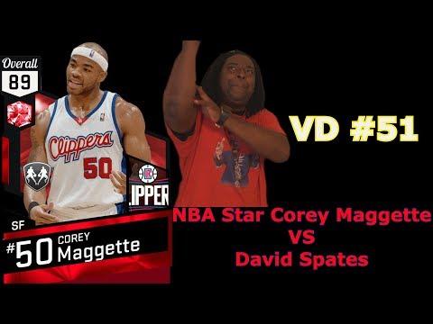 Playing NBA Star Corey Maggette 📕 Video Diary #51 (David Spates)