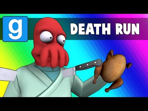 Gmod Deathrun Funny Moments - Thanksgiving Edition! (Garry's Mod) (видео)