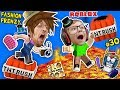 Download Video ROBLOX THE FLOOR IS LAVA (TNT RUSH) + FGTEEV FASHION FRENZY Best Dressed Challenge Skit GamePlay #30