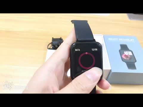 B57 Smart Bracelet With Big Screen,heart Rate And Blood Pressure Fitness Tracker