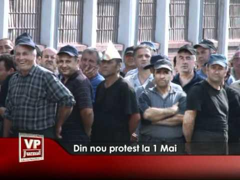 Din nou protest la 1 Mai