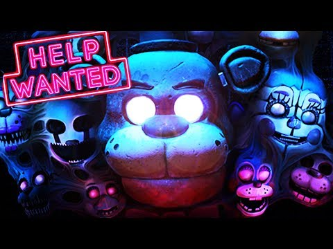 OMG!!! Five Nights At Freddy's VR: Help Wanted TRAILER REACTION & ANALYSIS