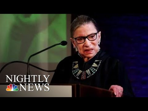 Supreme Court Justice Ruth Bader Ginsburg Hospitalized With Three Broken Ribs | NBC Nightly News
