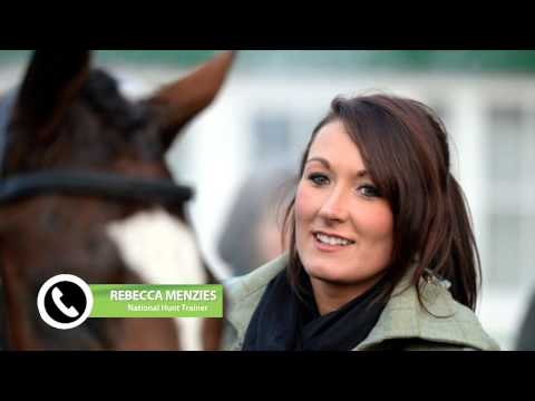 Rebecca Menzies Discusses Horses in Yard