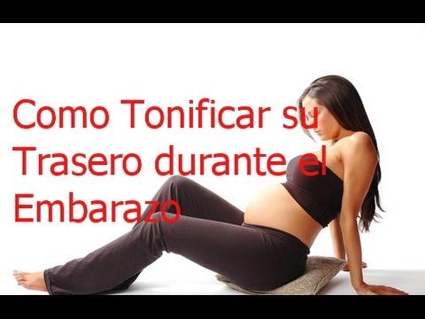 Como Tonificar su Trasero durante el Embarazo