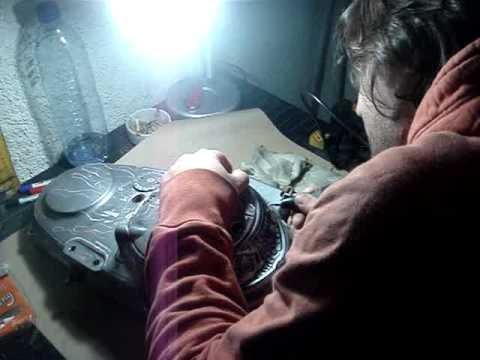 engraverd # gravar sobre aluminio em relevo