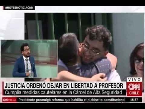 Defensor Mario Araya se refiere al cambio de medida cautelar del profesor Roberto Campos