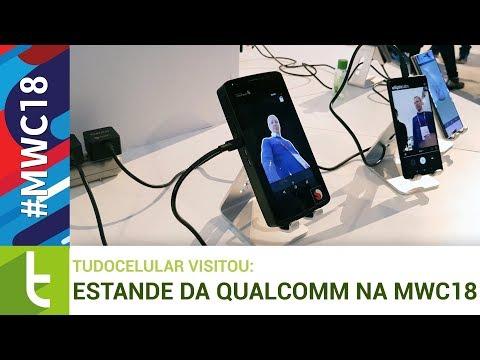 Tudocelular - Qualcomm mostra porque o Snapdragon é líder no mercado premium #MWC18