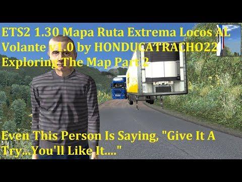 MAPA RUTA EXTREMA LOCOS AL VOLANTE v1.0