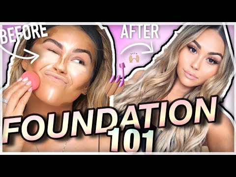 How To: Apply FULL COVERAGE Flawless Foundation for Beginners! | Roxette Arisa