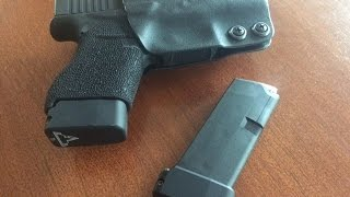 In this video I install some Taran Tactical +2 base plates on my Glock 43 mags.Like,comment,subscribe.Thanks Callsign.