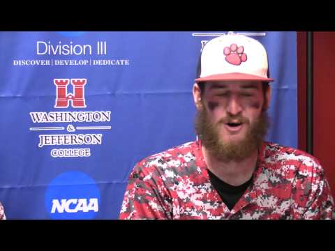 Frostburg State Post-Game Press Conference - Game Two vs. Heidelberg - May 15, 2015