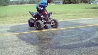 10. Buck '09 Yamaha Raptor 700R SE Too Fast