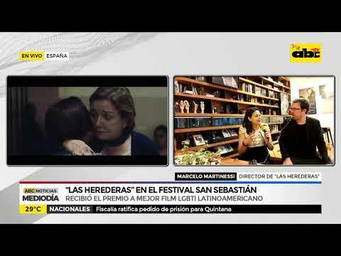 ''Las herederas'' en el festival San Sebastián