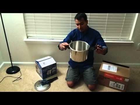 Presto 6 Quart stainless steel pressure cooker