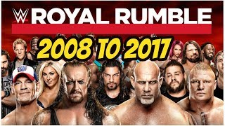 Nonton Royal rumble winners 2008 to 2017 highlights wwe royal rumble all time winners part 2 Film Subtitle Indonesia Streaming Movie Download