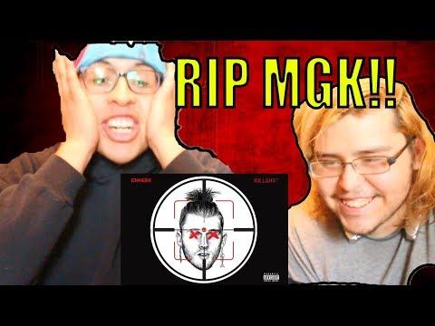 Eminem - KILLSHOT (MGK Response) The Goat Shot Back | REACTION