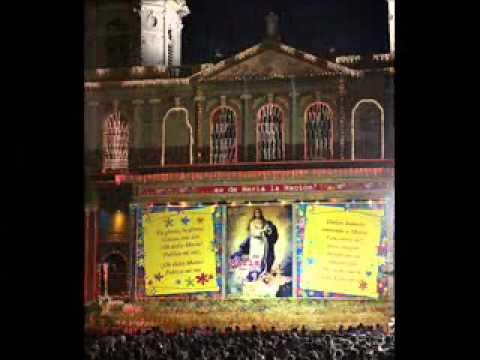 Canto a la Purisima en Nicaragua - Ave de Lourdes.wmv