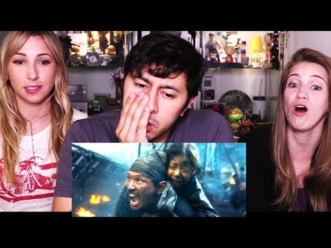 THE BATTLESHIP ISLAND | Korean Movie | Trailer Reaction w/ Ashley & Morgan!