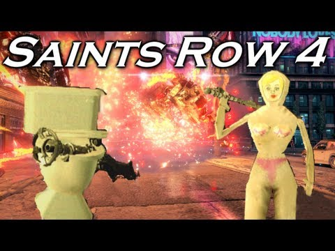 Saints Row 4 Hilarious Moments with the Asdfs