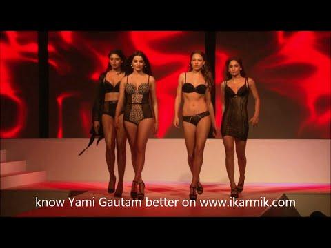 Video Yami Gautam in Hot Lingerie & Beachwear Fashion show download in MP3, 3GP, MP4, WEBM, AVI, FLV January 2017