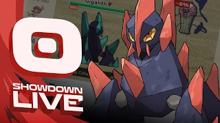 Pokemon Sun and Moon! Showdown Live: Enter Gigalith - Gigalith Showcase! by PokeaimMD
