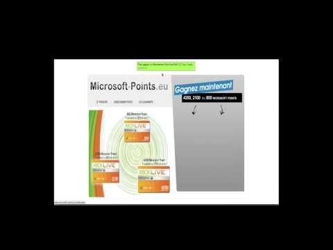 comment gagner des points microsoft sur xbox live