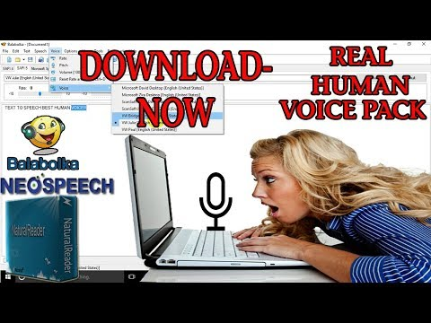 text to speech  voices free download | BEST Text-To-Speech Voice (REAL HUMAN VOICE) (2017)