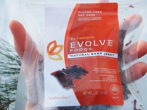 Evolve Foods Grass Fed Beef Jerky