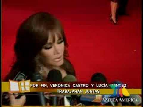 Veronica Castro y Lucia Mendez Lesbianas