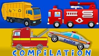 Video Cars | Fire truck | Tow Truck | Heavy Vehicle | Compilation MP3, 3GP, MP4, WEBM, AVI, FLV Desember 2018