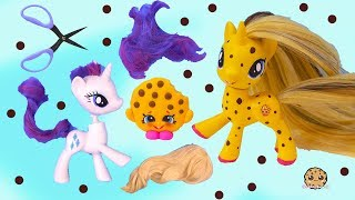 Video DIY Custom Shopkins My Little Pony ! MLP New Hair Root Craft Video MP3, 3GP, MP4, WEBM, AVI, FLV Mei 2019
