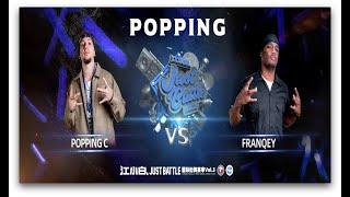 Poppin C vs Franqey – 江小白 Just Battle vol.3 Popping Semi Final